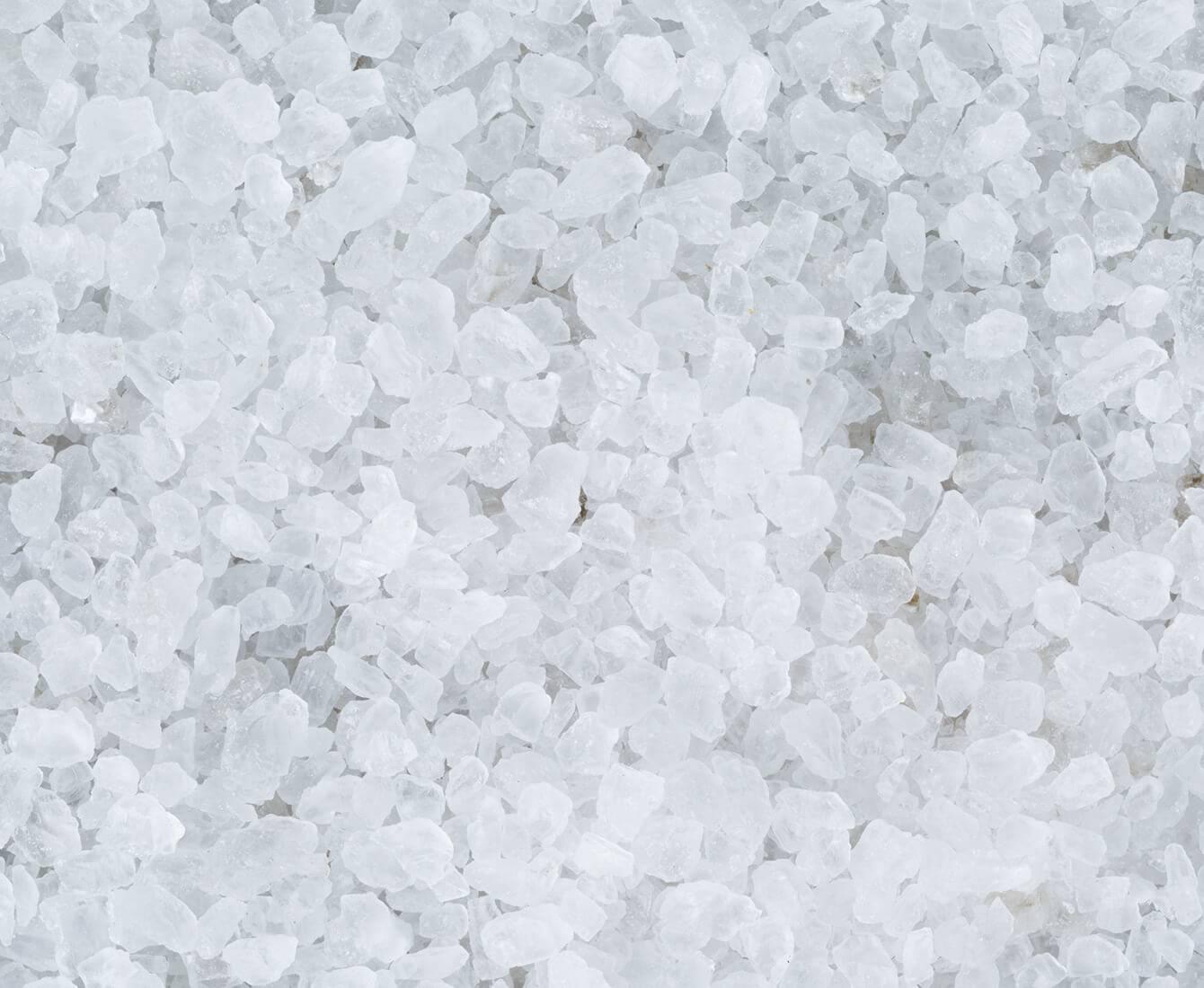 Soin exfoliation cristaux de sel
